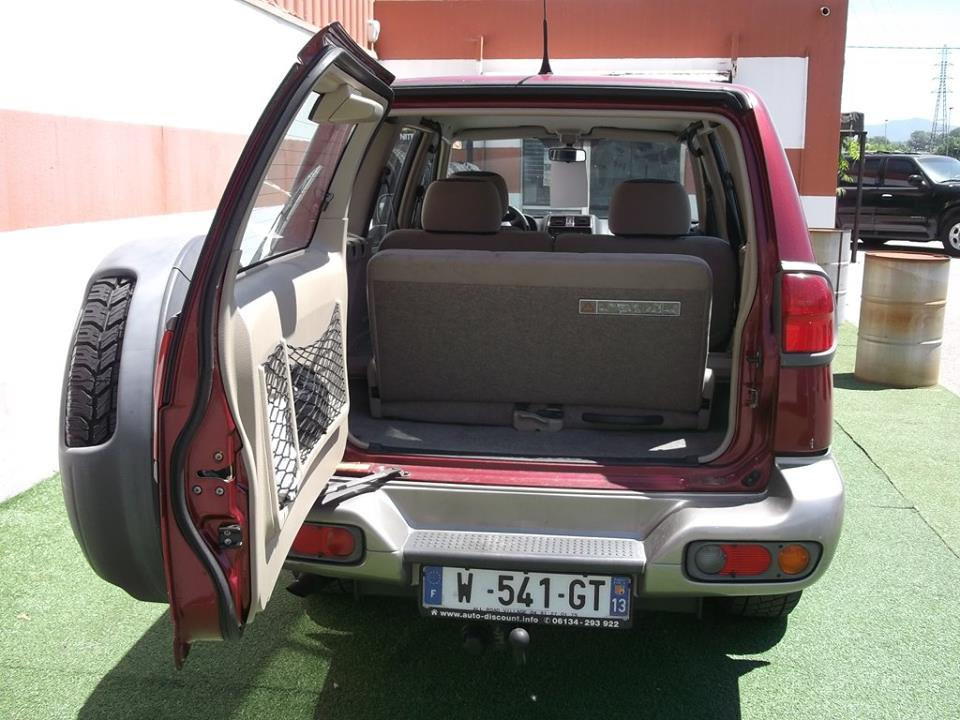 4x4 nissan terrano 2 2 7litres nissan vo677   garage all