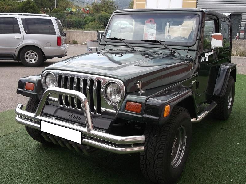4x4 jeep wrangler tj 2 5l hard top jeep vo639 garage all road village specialiste 4x4 a aubagne. Black Bedroom Furniture Sets. Home Design Ideas