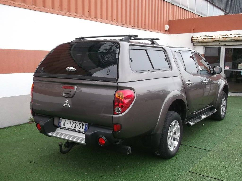 4x4 pick up mitsubishi l200 178cv double cabine avec hard top mitsubishi vo668 garage all road. Black Bedroom Furniture Sets. Home Design Ideas