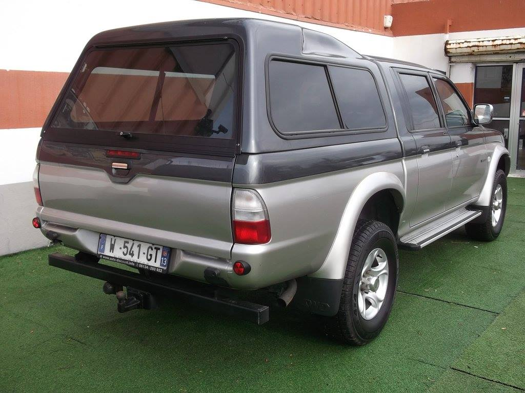 4x4 pick up mitsubishi l200 double cabine avec hard top. Black Bedroom Furniture Sets. Home Design Ideas