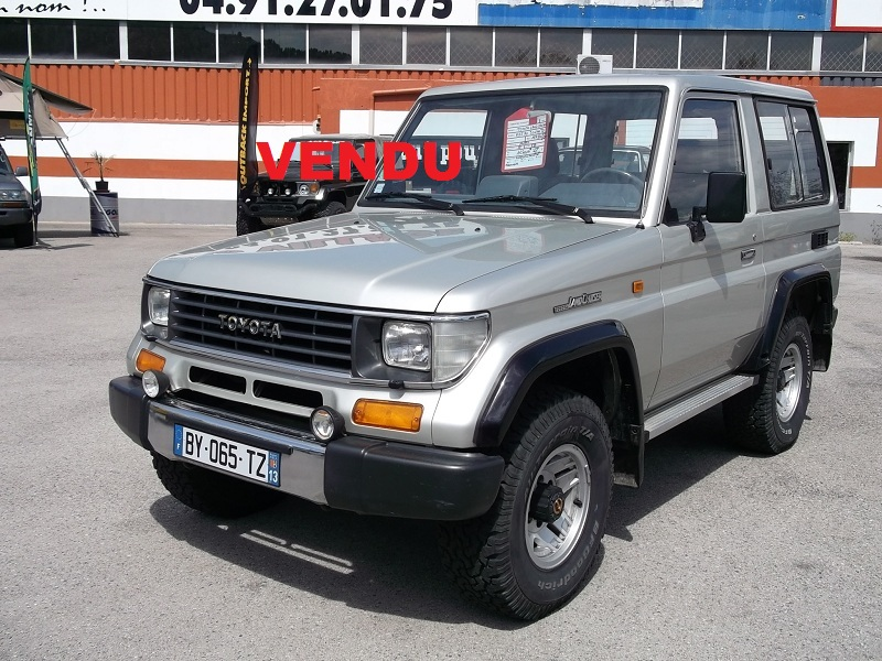 4x4 toyota land cruiser kzj70 vx 125 cv toyota vo539 garage all road village specialiste 4x4