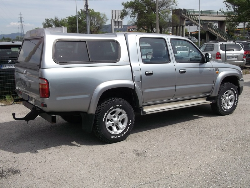 4x4 toyota hilux ii sr5 pick up double cabine 2 5d 4d toyota vo603 garage all road village