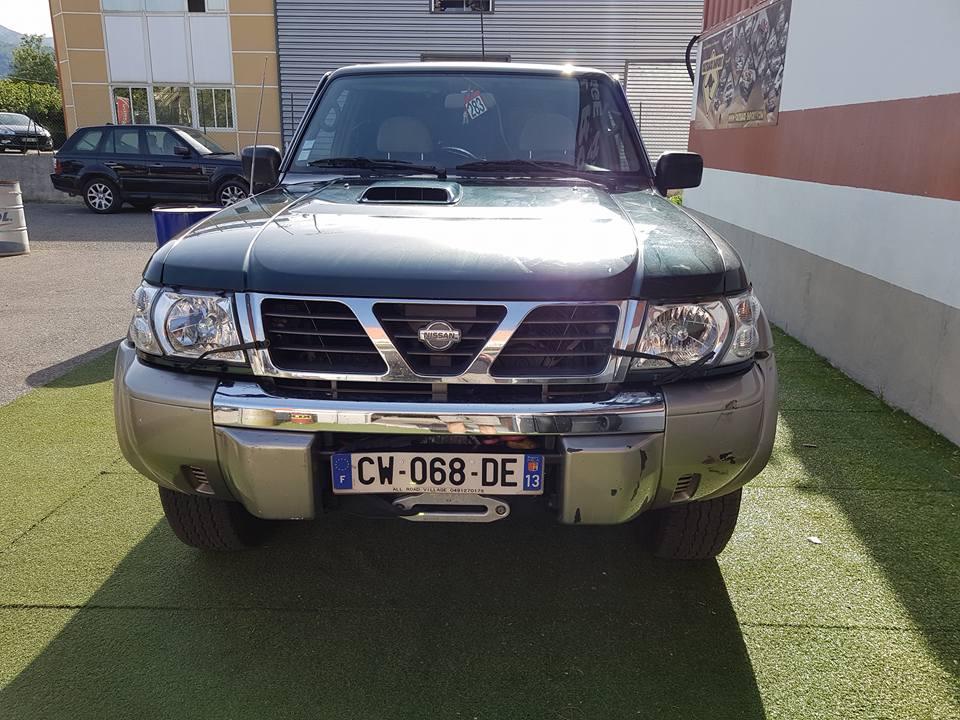 4x4 nissan patrol gr y61 3 0 litres di long vo689 garage for Garage nissan marseille