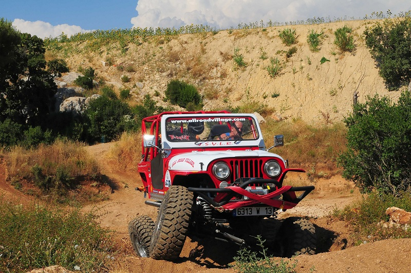 All road village passion rock crawling 7583 garage all for Arceau exterieur 4x4