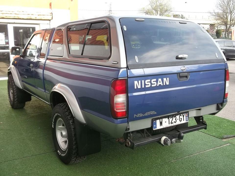 Nissan navara pickup 2 5 di king cab avec hard top nissan for Garage nissan aix en provence occasion