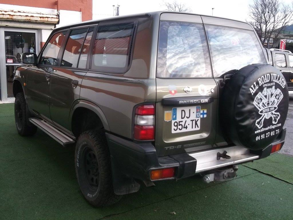 4x4 nissan patrol gr y61 long 2 8 td6 nissan vo665 for Garage nissan marseille