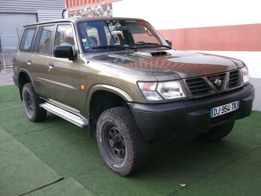 4x4 nissan patrol gr y61 long 2 8 td6 nissan vo665 garage all road village specialiste 4x4 a. Black Bedroom Furniture Sets. Home Design Ideas